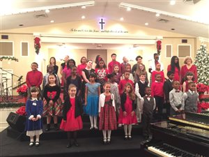 Our Christmas Recital -- December 2015