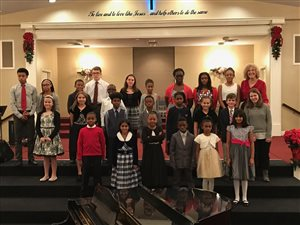 Our Christmas Recital -- December 2016
